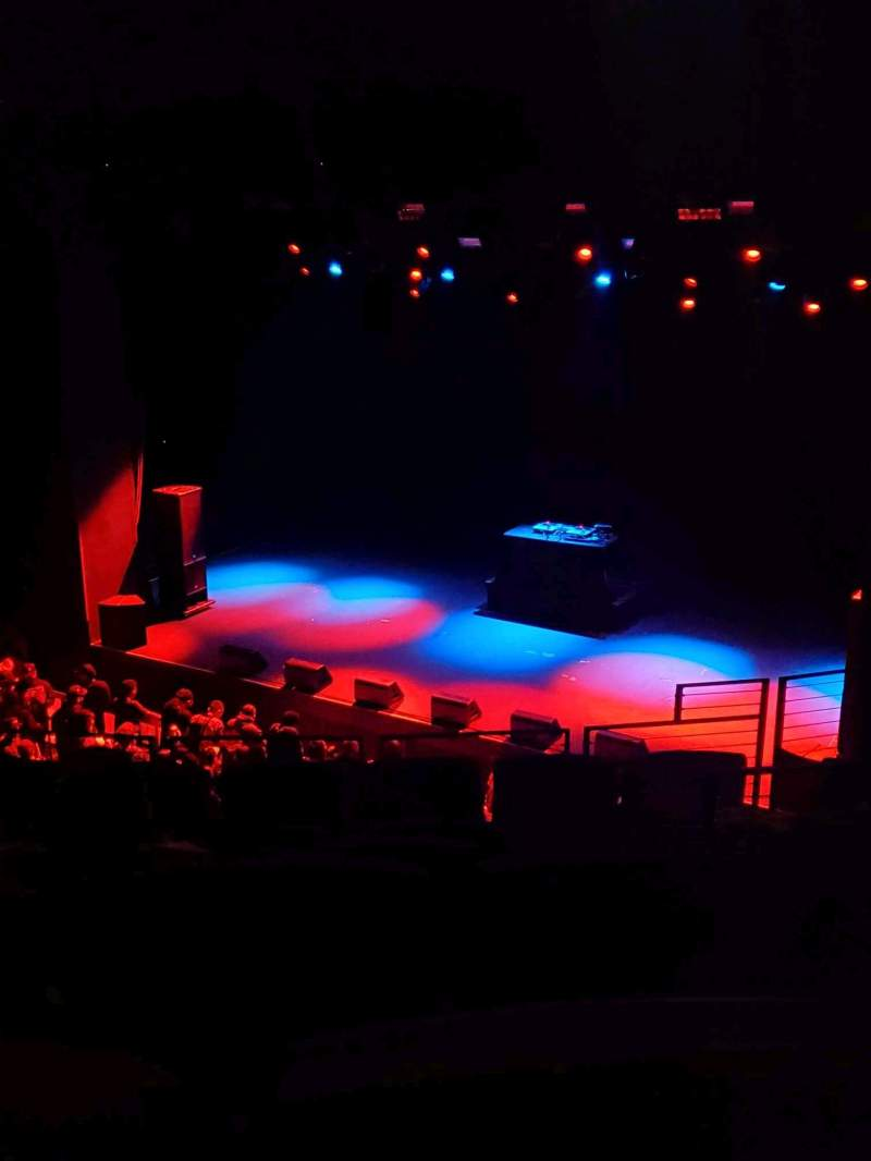Seating view for The Novo by Microsoft Section Balcony Row A Seat 104