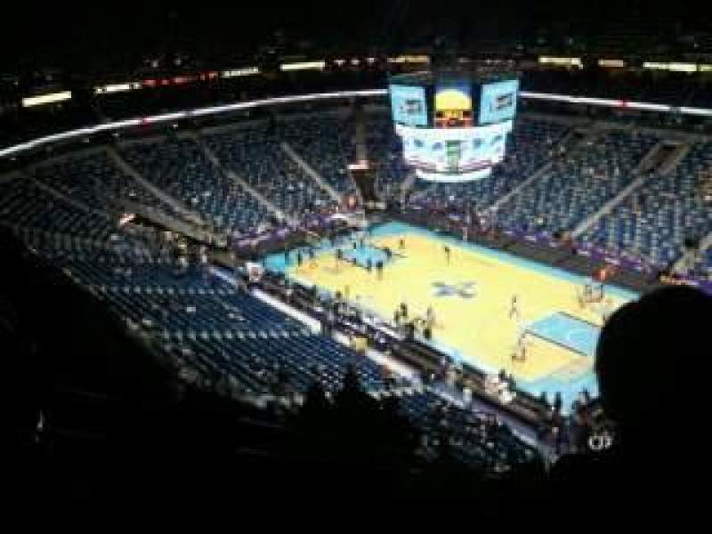 Seating view for Smoothie King Center Section 312