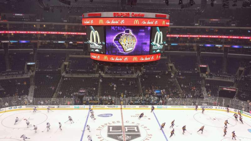 Seating view for Staples Center Section Suite C34