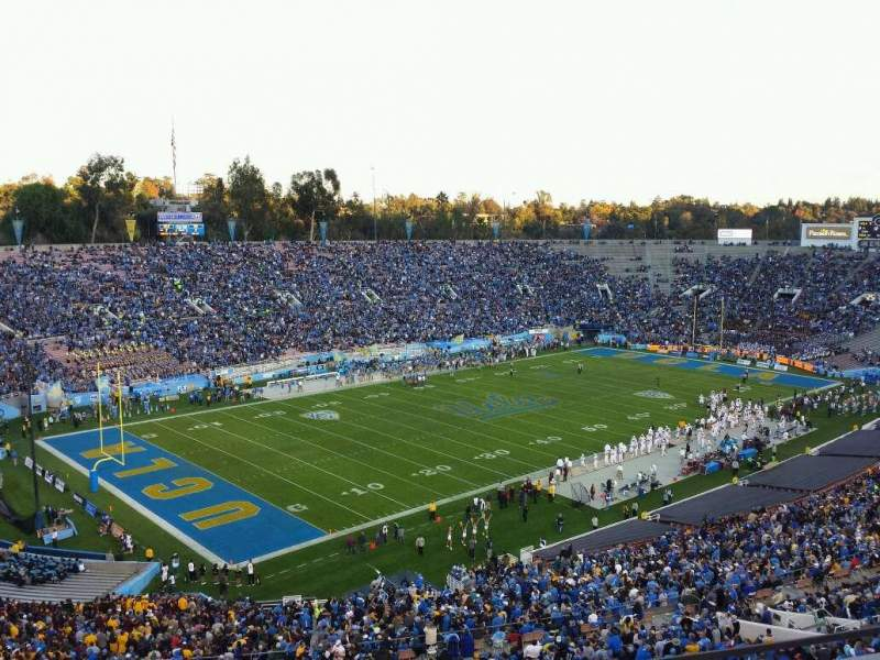 Seating view for Rose Bowl Section Club E214 Row A Seat 7