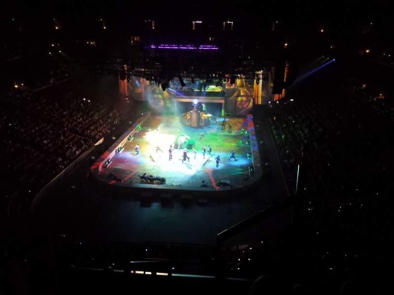 Honda Center, section: 444, row: F, seat: 1
