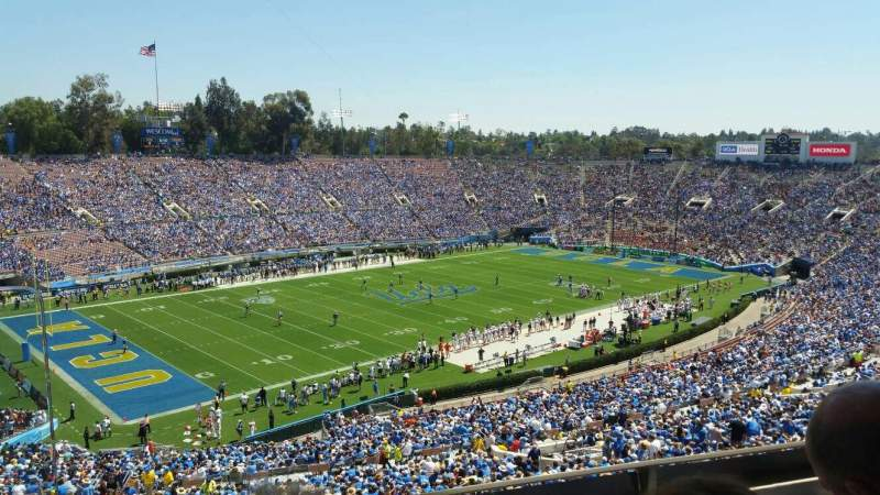 Seating view for Rose Bowl Section Club D111 Row B Seat 16