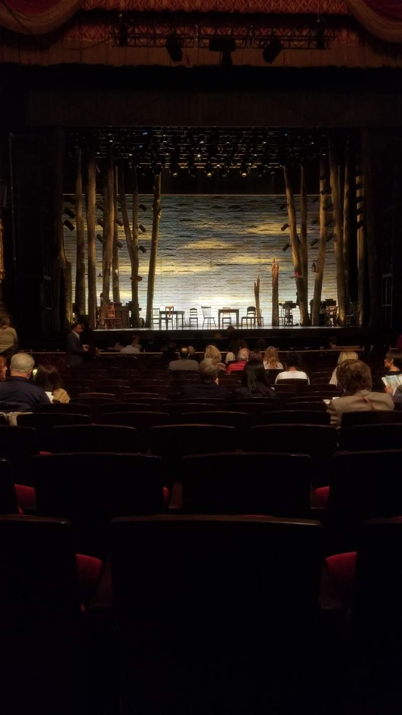 Seating view for Academy of Music Section Parquet Circle F Row N Seat 109