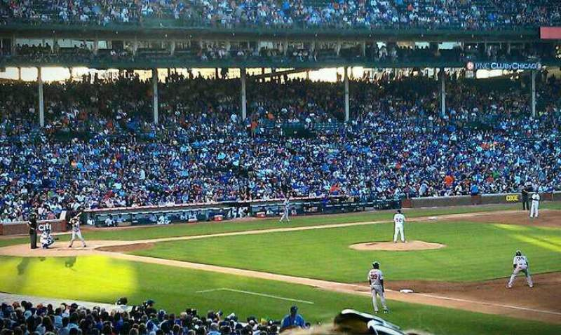 Seating view for Wrigley Field Section 236 Row 8 Seat 103