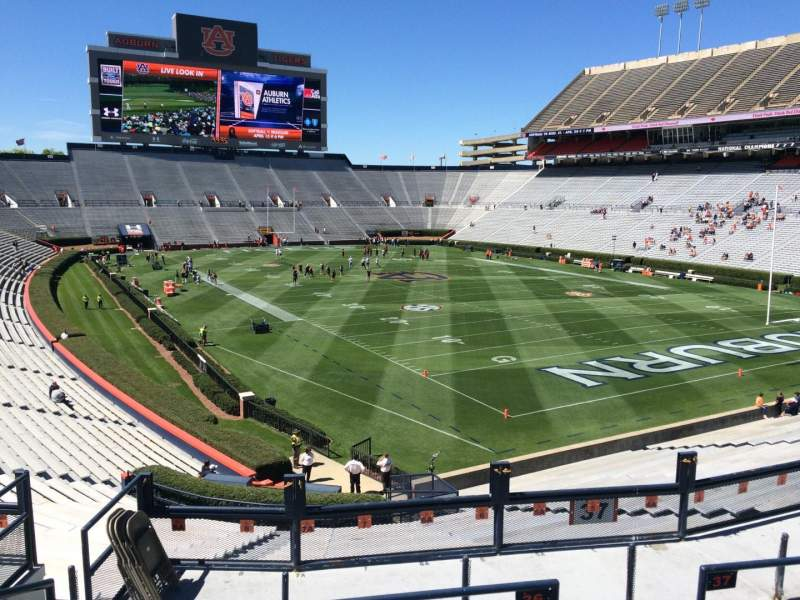 Seating view for Jordan-Hare Stadium Section 36 Row 34 Seat 5