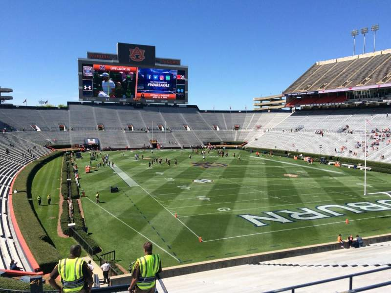 Seating view for Jordan-Hare Stadium Section 37 Row 34 Seat 5