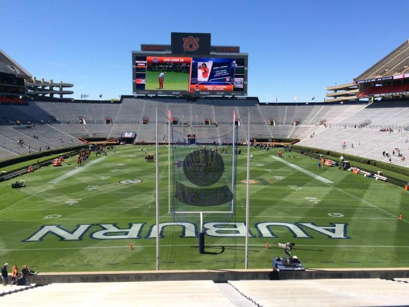 Seating view for Jordan-Hare Stadium Section 40 Row 34 Seat 5