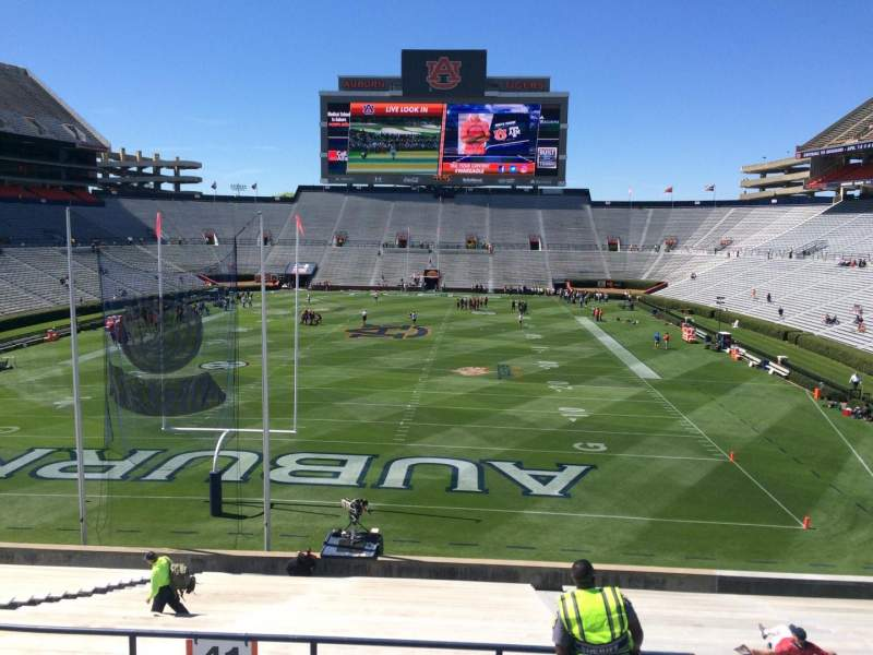 Seating view for Jordan-Hare Stadium Section 41 Row 34 Seat 5