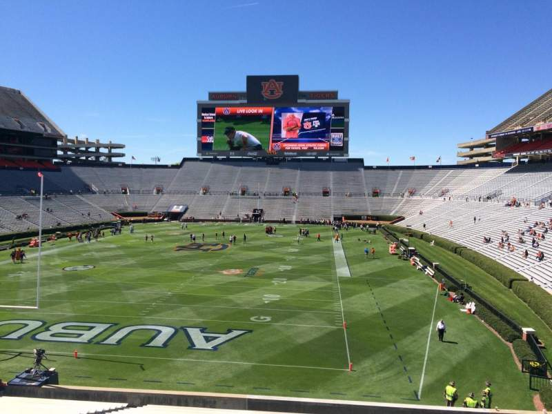 Seating view for Jordan-Hare Stadium Section 42 Row 34 Seat 5