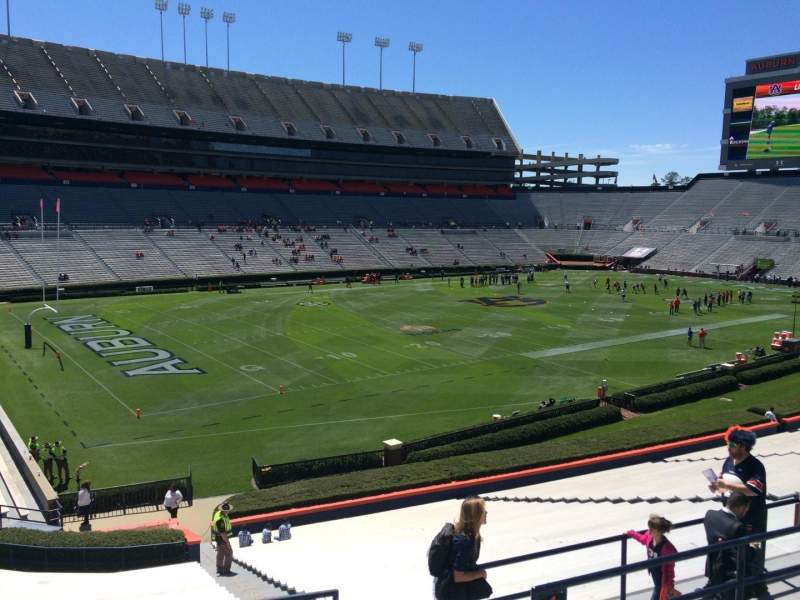 Seating view for Jordan-Hare Stadium Section 46 Row 34 Seat 5