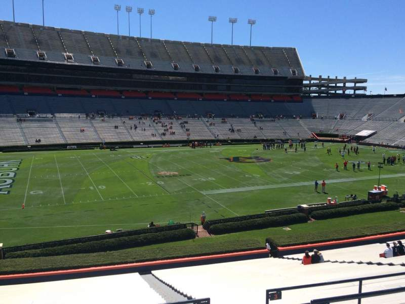 Seating view for Jordan-Hare Stadium Section 2 Row 34 Seat 5
