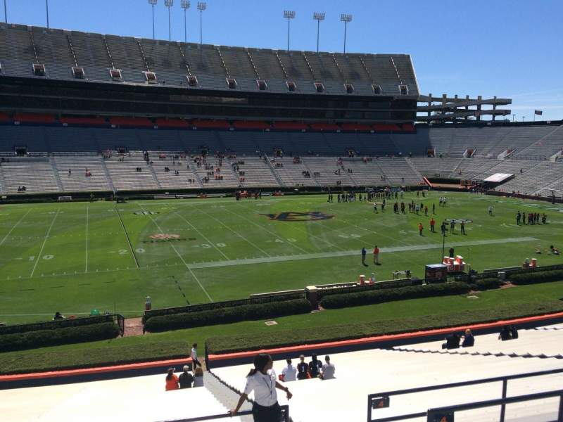 Seating view for Jordan-Hare Stadium Section 3 Row 34 Seat 5