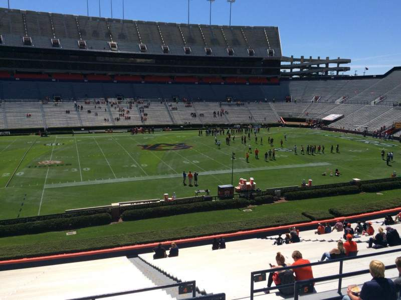 Seating view for Jordan-Hare Stadium Section 4 Row 34 Seat 5