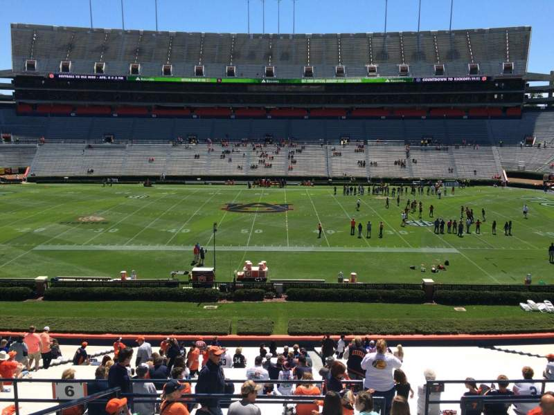 Seating view for Jordan-Hare Stadium Section 6 Row 37 Seat 5