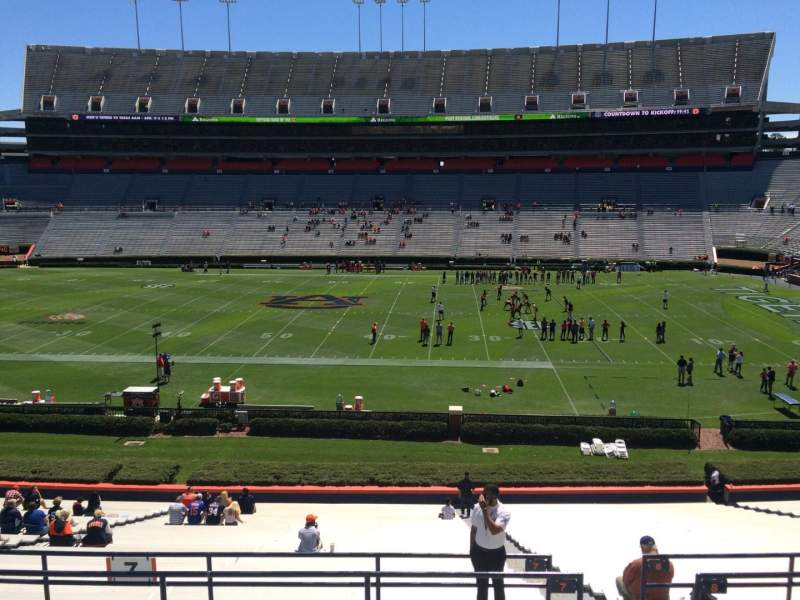 Seating view for Jordan-Hare Stadium Section 7 Row 37 Seat 5