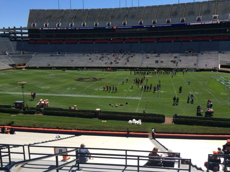 Seating view for Jordan-Hare Stadium Section 8 Row 37 Seat 5