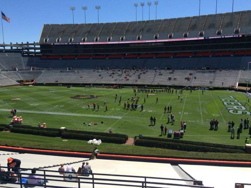 Seating view for Jordan-Hare Stadium Section 9 Row 37 Seat 5