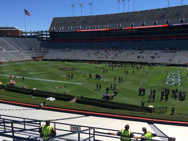 Seating view for Jordan-Hare Stadium Section 10 Row 37 Seat 5
