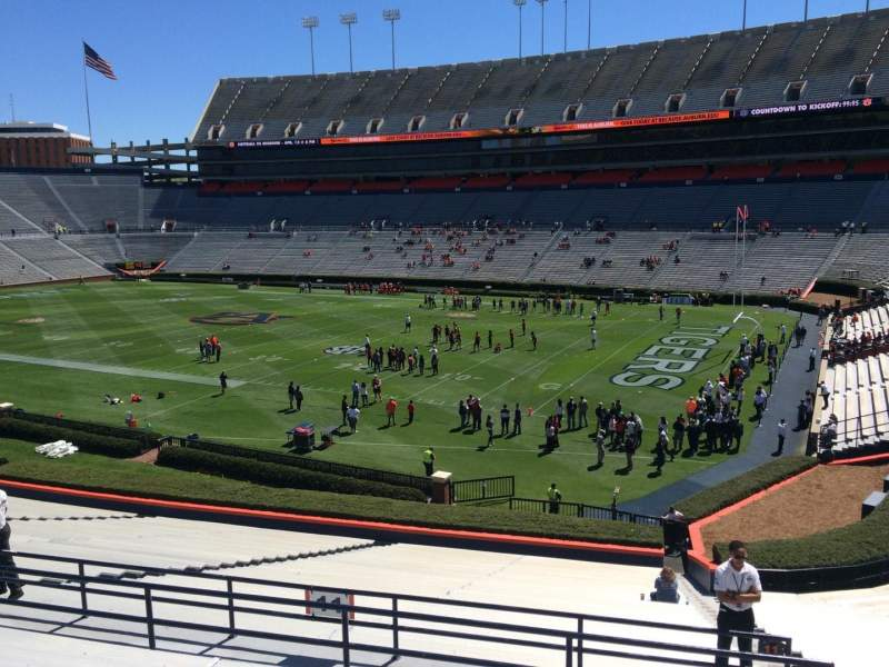 Seating view for Jordan-Hare Stadium Section 11 Row 37 Seat 5