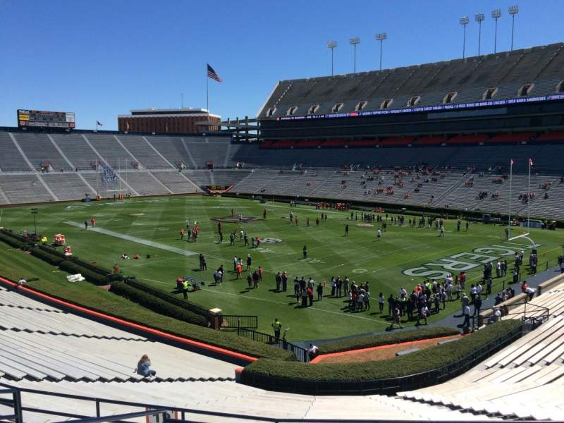Seating view for Jordan-Hare Stadium Section 12 Row 37 Seat 5