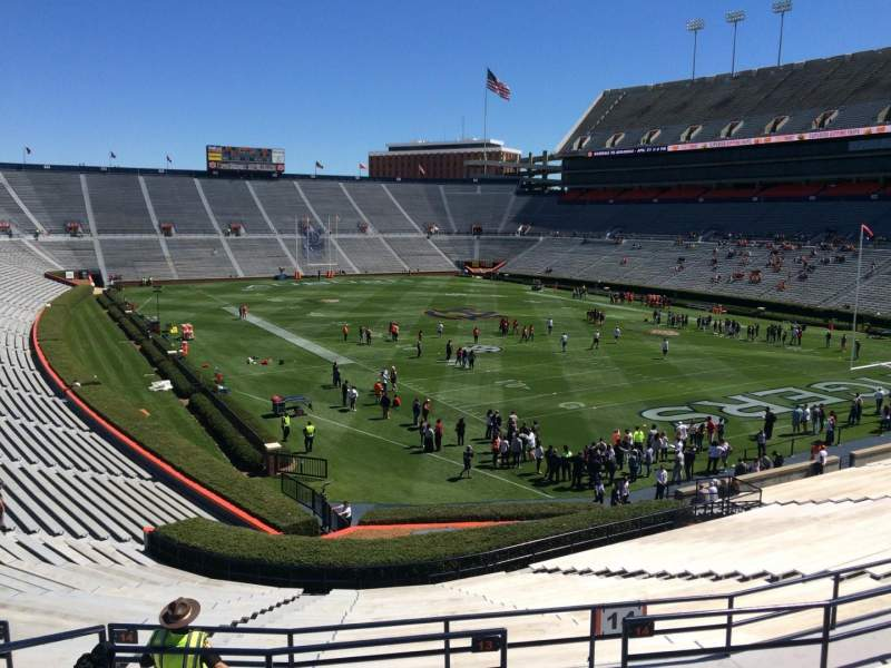 Seating view for Jordan-Hare Stadium Section 13 Row 37 Seat 5