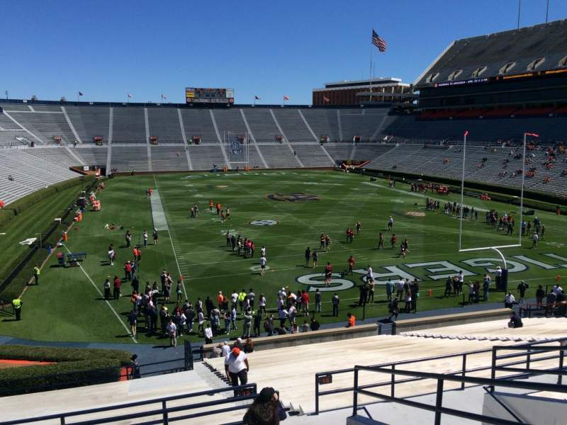 Seating view for Jordan-Hare Stadium Section 15 Row 37 Seat 5