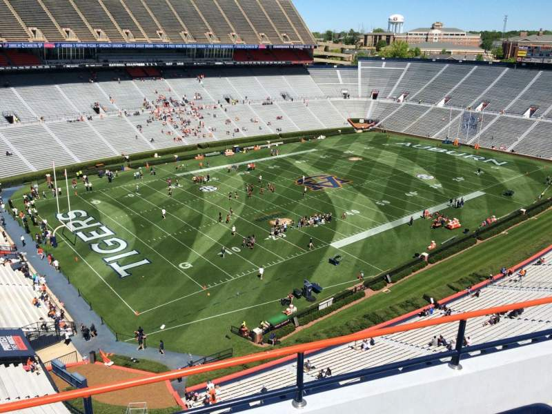 Seating view for Jordan-Hare Stadium Section 99 Row 5 Seat 1