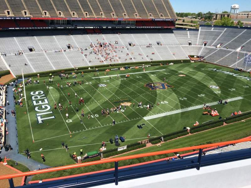 Seating view for Jordan-Hare Stadium Section 101 Row 5 Seat 7
