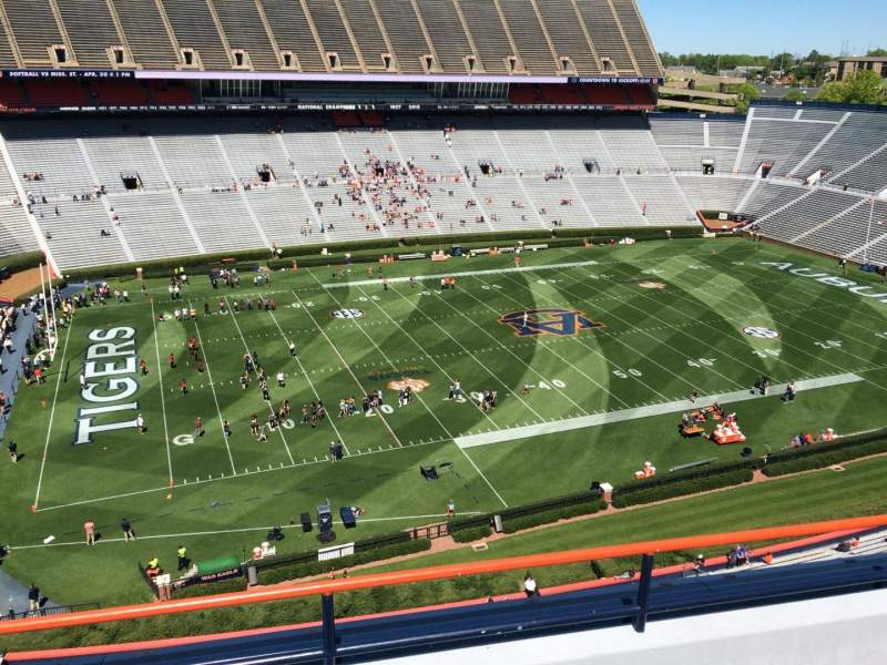 Seating view for Jordan-Hare Stadium Section 102 Row 5 Seat 7