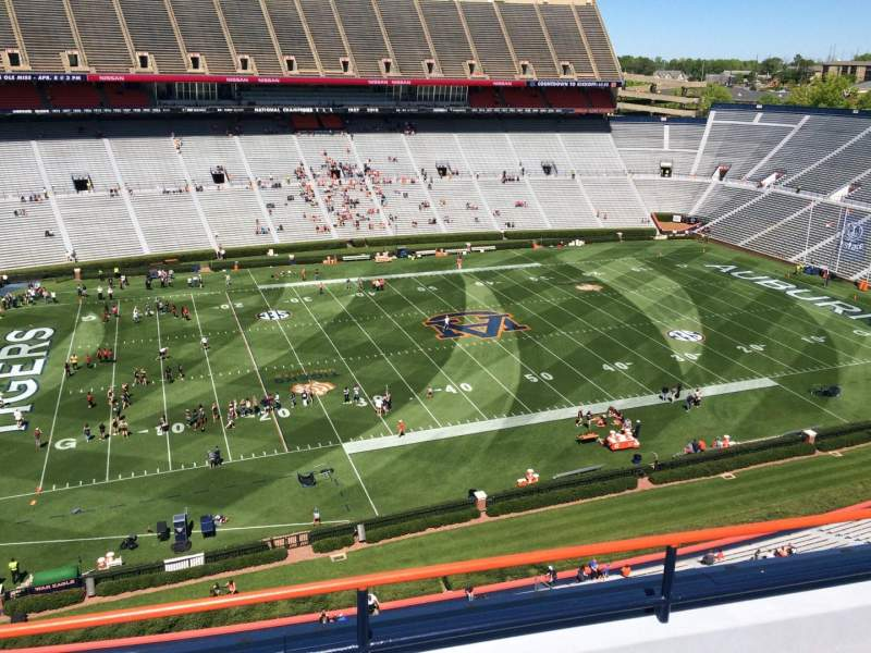 Seating view for Jordan-Hare Stadium Section 103 Row 5 Seat 7
