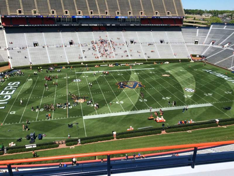 Seating view for Jordan-Hare Stadium Section 104 Row 5 Seat 7