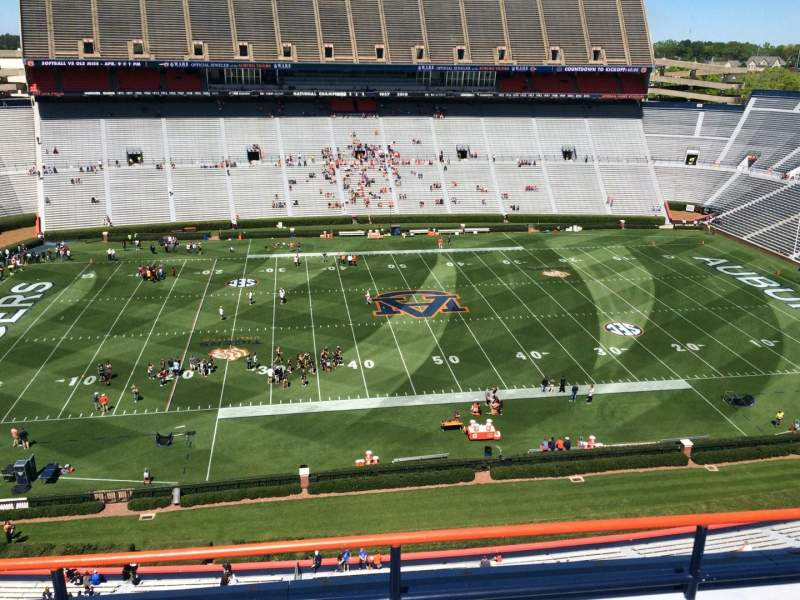 Seating view for Jordan-Hare Stadium Section 105 Row 5 Seat 7