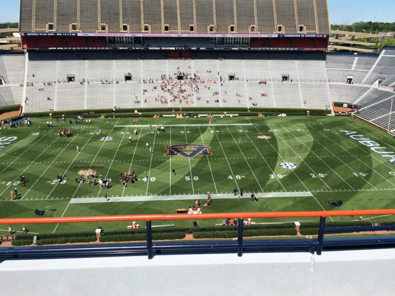 Seating view for Jordan-Hare Stadium Section 106 Row 5 Seat 7