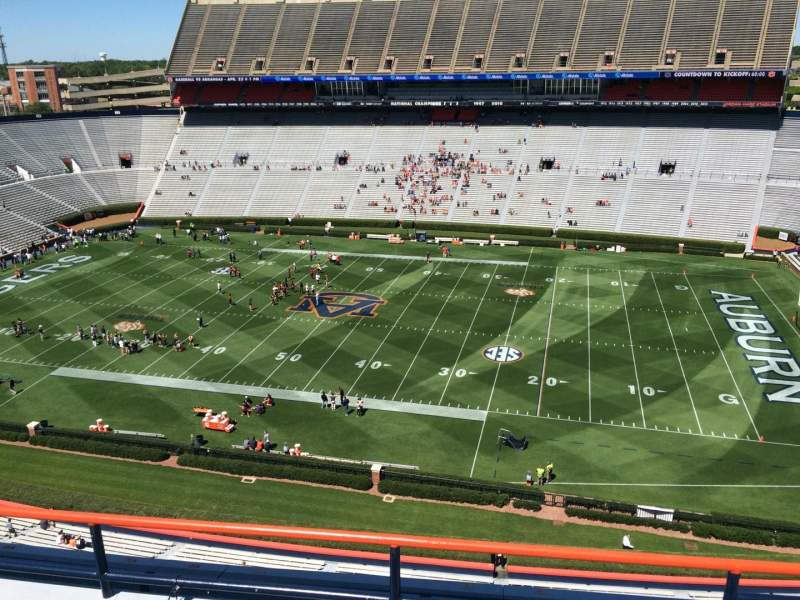 Seating view for Jordan-Hare Stadium Section 109 Row 5 Seat 7