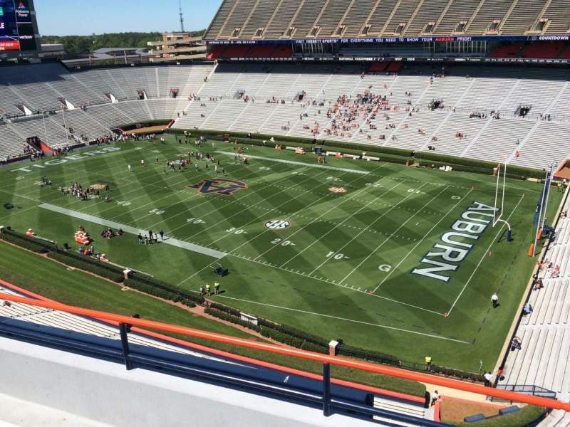 Seating view for Jordan-Hare Stadium Section 113 Row 5 Seat 7