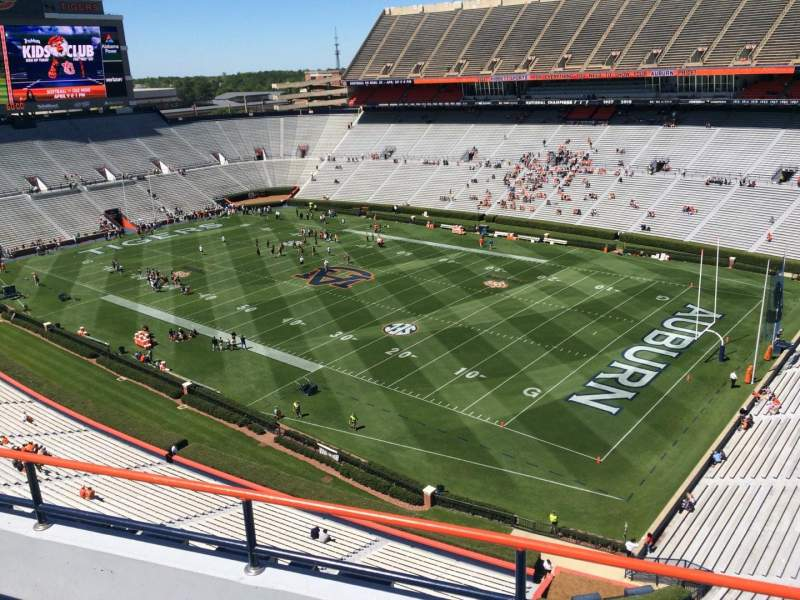 Seating view for Jordan-Hare Stadium Section 114 Row 5 Seat 3