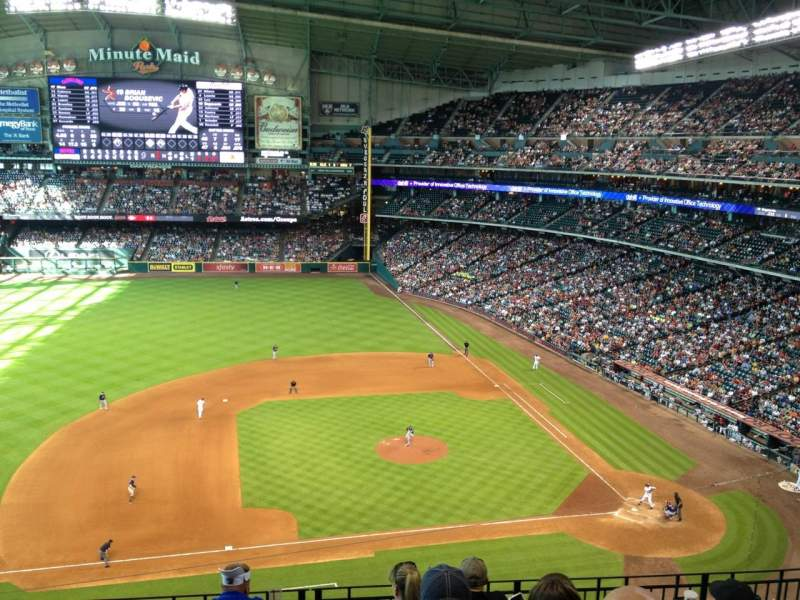 Seating view for Minute Maid Park Section 313 Row 6 Seat 10