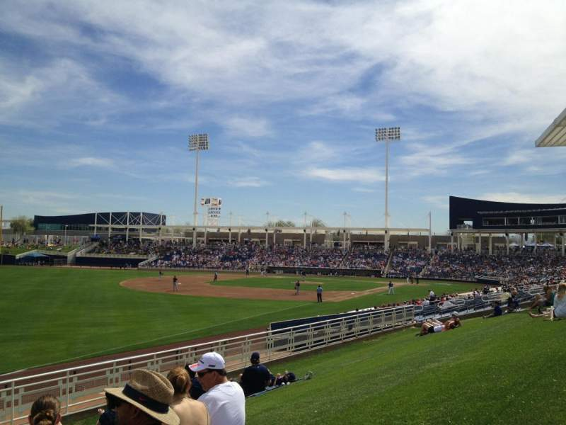 Seating view for Maryvale Baseball Park Section Lawn