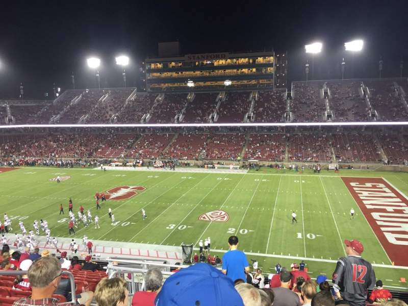 Seating view for Stanford Stadium Section 230