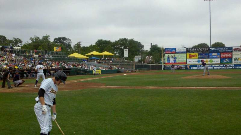 Seating view for Arm & Hammer Park Section 7 Row BB Seat 6