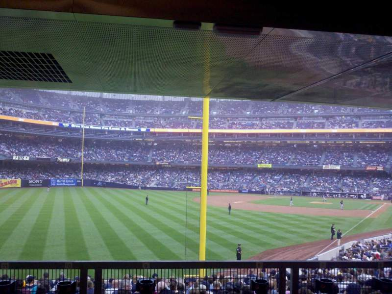 Yankee Stadium Section 132s Row 28s Seat 6 New York