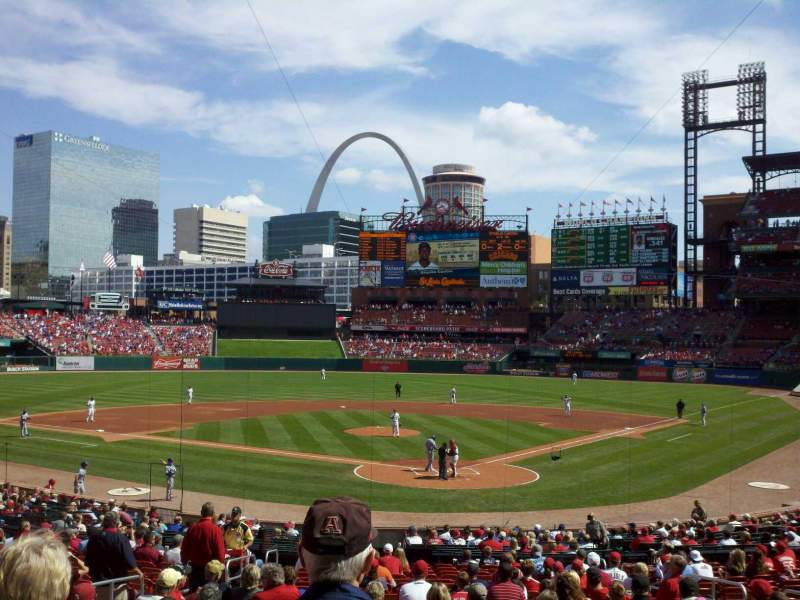 Seating view for Busch Stadium Section Suite 51 Row 20 Seat 7