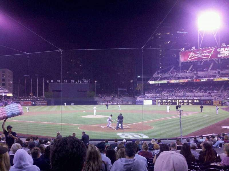 Seating view for PETCO Park Section 102 VIP Row 20 Seat 11