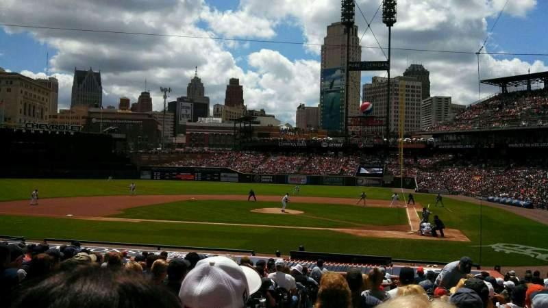 Seating view for Comerica Park Section 131 Row 26 Seat 15