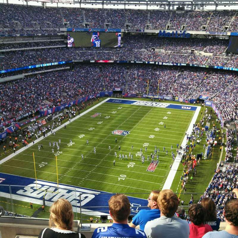 Seating view for MetLife Stadium Section 323 Row 10 Seat 17