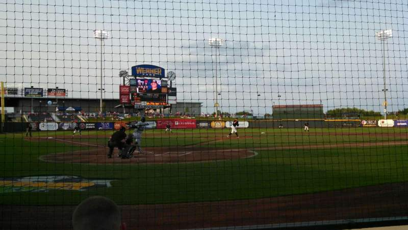 Seating view for Werner Park Section 112 Row C Seat 2