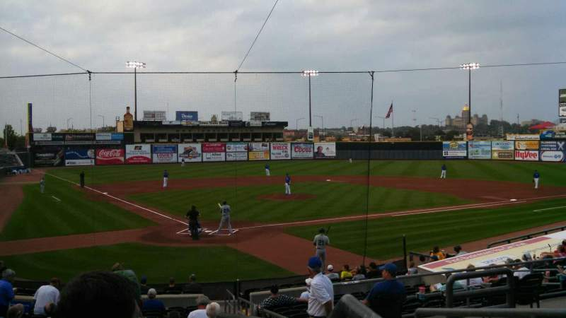 Seating view for Principal Park Section 11 Row 4 Seat 1