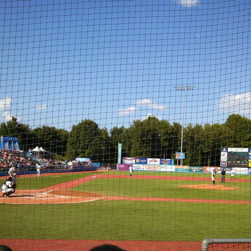 Seating view for Dutchess Stadium Section 104 Row C Seat 11