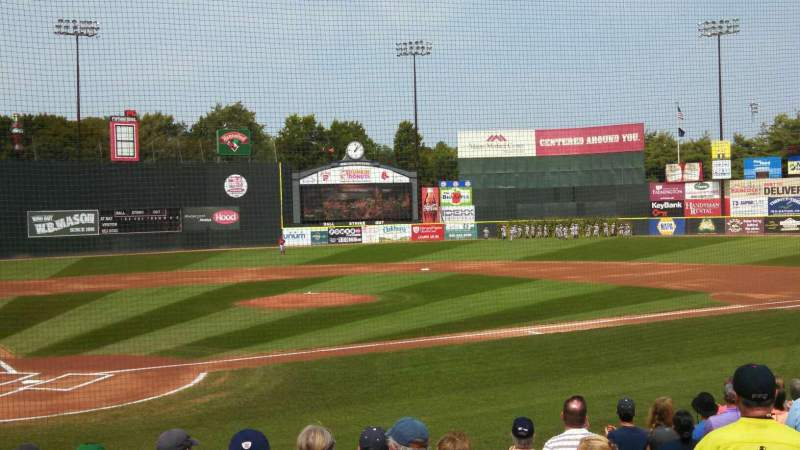 Seating view for Hadlock Field Section 104 Row L Seat 9