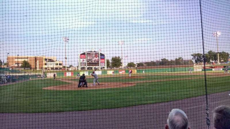 Seating view for Dickey-Stephens Park Section 108 Row C Seat 10